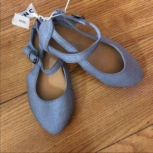 Old Navy toddler girls maryjane flats sandals 8
